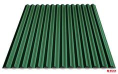 Culoare tabla cutată t18 sinus - Verde