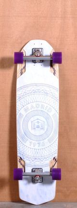"""Madrid 38.25"""" Circles Longboard Complete http://thelongboardstore.com/longboards/downhill-longboards/38-25-circles-longboard-complete/"""