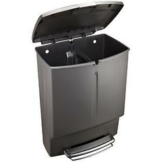The Container Store > simplehuman® 15 gal. Rectangle Plastic Recycler