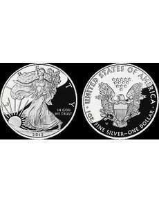 Collectors will be able to buy the Proof 2012-W American Eagle silver coin from the U.S. Mint beginning April 12.