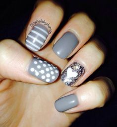 ... EN UÑAS...(LUCY) on Pinterest | Pretty nail art, Pies and Nail art