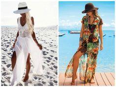 Garimpando Links: Links de 06/08/2016 Ideias Fashion, Ready To Wear, Cover Up, Poses, Beach, Bikinis, How To Wear, Fashion Design, Dresses