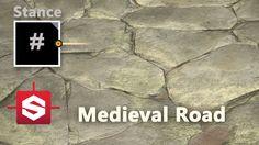 Medieval Road - Substance Designer Material Breakdown