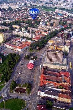 Downtown. Košice 50 My Town, Bratislava, Czech Republic, Hungary, Austria, Poland, Times Square, Explore, Group
