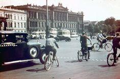 Berlin 1927 Hindenburgplatz,im Hintergrund Botschaft der USA in Berlin