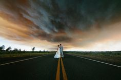 In the Heat of the Moment #1 - Wedding Photos Use Wildfire as a Unique Backdrop and Go Viral