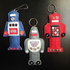 KBB Crafts & Stitches: Mini Felt Robots