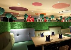Restaurant Alice in Wonderland. Restaurant Alice in Wonderland in Tokyo by Fantastic Design Works Tokyo Restaurant, Restaurant Design, Restaurant Ideas, Restaurant Branding, The Places Youll Go, Places To Go, Lunch Places, Food Places, Decoration Restaurant