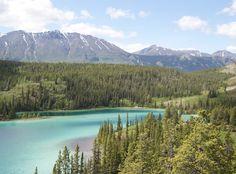 Prachtige kleuren in Yukon
