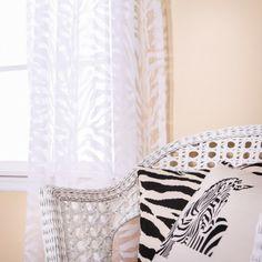 Zebra Burnout Sheer Curtain pretty !!!!! #sheer #pretty #zebra #burnout #curtain Damask Curtains, White Curtains, Window Curtains, Blackout Curtains, Linen Fabric, White Flowers, Natural Light, Venice, Elegant