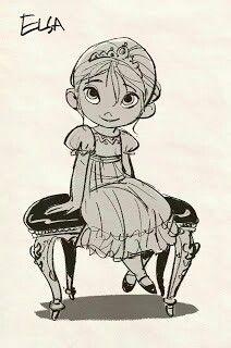 Elsa enfant [la reine des neiges]
