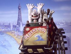 Wallace and Gromit at Blackpool