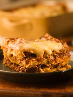 Lasagna with Speedy Meat Sauce - Chef Michael Smith.  This is the best ever!