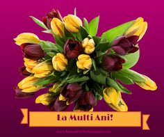 La multi ani! Happy Wishes, Happy Birthday Wishes, Happy B Day, Happy New Year, Motto, Mobiles, Gardening, Facebook, Decor