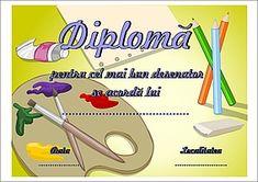 Diplomă pentru concursuri de desen My Job, Vintage Patterns, School Supplies, Parenting, Lol, Kids, Image, Printable, Drawing
