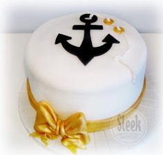 Tutorial: Nautical Cake