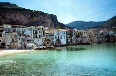 Cefalu, Sicily. Nice clear sea!