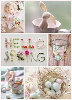 Spring is in the Air Spring Is Here, Hello Spring, Collages, Quote Collage, Mood Colors, Easter Parade, Hoppy Easter, Baby Decor, Spring Crafts