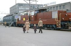 SBB Bm 6/6, Re 6/6, Aarau, Ausstellung, 1980 Swiss Railways, Diesel Locomotive, Street View, Pictures, Google, Trains, Locomotive, Photo Illustration, Photos