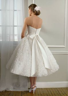 Plus Size Wedding Dresses tea   How to Get Tea Length Wedding Dresses at a Cheap Price