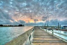 Murrells Inlet, SC - MarshWalk - Matthew Trudeau Photography