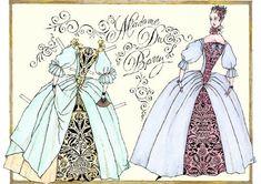Madame Du Barry | Gabi's Paper Dolls