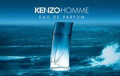 """Kenzo, nos presenta su nueva fragancia masculina, Kenzo """"Homme Eau De Parfum"""", inspirada en el océano. Te contamos todos los detalles en nuestro blog."""