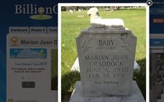 Brandt's Rants: Tombstone Tuesday - Our Darling  #genealogy