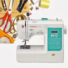 The Singer Stylist 7258 sewing machine is an award-winning model that comes with over 100 stitch options, is inexpensive, easy and a pleasure to use. Sewing Machine Reviews, Make It Simple, Cool Things To Buy, Stylists, Singer, Award Winner, Seal, Construction, Craft Ideas