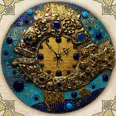Часы Clock Art, Diy Clock, Wall Clocks, Decoupage Art, Mandala Dots, Wooden Watch, Pottery Painting, Bottle Art, Texture Painting