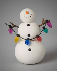 Buy New Hampshire Foods, Gifts Products: Winter Theme Clay Ornaments by Black Forest Friends - Holiday Crafting Sculpey Clay, Polymer Clay Ornaments, Polymer Clay Projects, Polymer Clay Creations, Christmas Holidays, Christmas Ornaments, Christmas Design, Christmas Lights, Clay Christmas Decorations