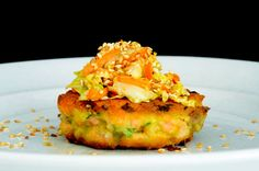 Recipe, grocery list, and nutrition info for Salmon Wasabi Burgers. Quick and easy Salmon Wasabi Burgers are a healthy, spicy entree. Primal Recipes, Spicy Recipes, Fish Recipes, Seafood Recipes, Cooking Recipes, Candida Recipes, Ketogenic Recipes, Delicious Recipes, Chicken