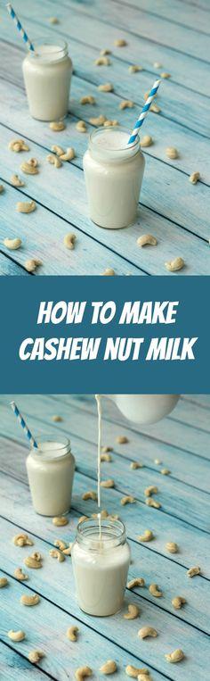 How to make creamy dreamy cashew nut milk! Vegan | Dairy-Free | Vegan Recipes | Vegan Food | Vegan Breakfast