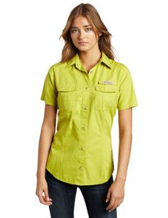 Pesky bugs and burning sun are no match for this cool, protective shirt, which is designed specifically to meet the needs of lady anglers. Constructed of cotton poplin that's garment washed for lived-in comfort, it features four hook and loop closure fly box pockets at the chest and a rod holder loop at the left chest that frees up your hands to work with lines and lures...
