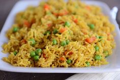 Indian Vegetable Rice- double recipe, half curry, sauté pork to add to finished rice. Rice Recipes, Indian Food Recipes, New Recipes, Dinner Recipes, Healthy Recipes, Ethnic Recipes, Pressure Cooker Rice, Pressure Cooking, Vegetable Rice Recipe