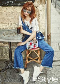 Kim Ji Won và Jin Goo đẹp đôi và sành điệu trên tạp chí thời trang - Ảnh 6.