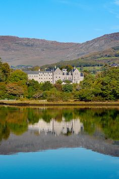 Park Hotel Kenmare, a Country house property, located in Kerry, Ireland Kenmare Ireland, Countryside Hotel, Country Retreats, House Property, Country House Hotels, Luxury Accommodation, Park Hotel, Coast, River