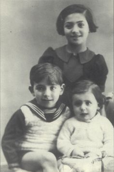 Gaston was deported to Auschwitz with his older siblings in 1944 at age 6
