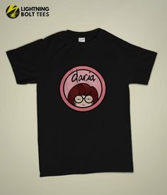 Daria Morgendorffer, Anti Fashion, Geek Fashion, Beavis And Butthead Shirt, New Outfits, Casual Outfits, T Shirt Time, Polo, Pastel Goth