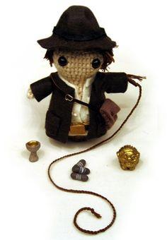 Indiana Jones Amigurumi