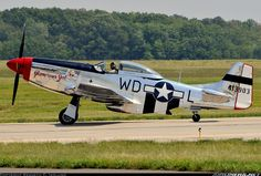 Modelvliegtuig P51-Mustang