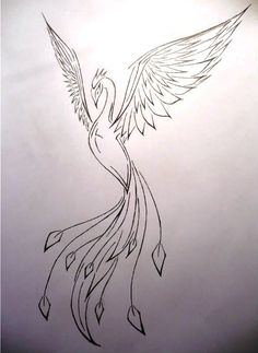 Phoenix - tattoo by ~frecmenta on deviantART