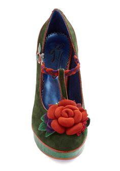 Shoe crush! #floral #color