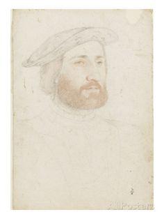 Antoine de la Rochefoucauld (vers 1490-1537) reproduction procédé giclée