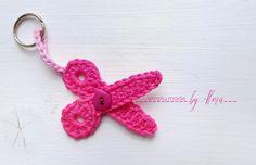 Crochet Yarn, Crochet Flowers, Crochet Hooks, Free Crochet, Crochet Keychain, Crochet Earrings, Easy Crochet Animals, Easter Crochet Patterns, Easy Christmas Decorations
