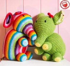 Crochet Elephant tutorial by Jam Made, great share, thanks so xox