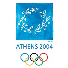 The 2004 Summer Olympic Games were held in Athens. This is significant because the Summer Olympic Games originated in Athens. 2004 Olympics, 2010 Winter Olympics, Atlanta Olympics, Winter Olympic Games, Winter Games, Ancient Olympics, Olympic Logo, Game Logo Design, Event Logo