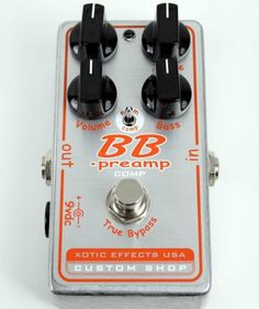 Xotic Custom Shop BB Preamp Comp BBp-comp by Xotic. $196.00