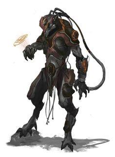A male Corvo from FAITH: the Sci Fi RPG. #RPG #SCIFI #Boardgame #Games