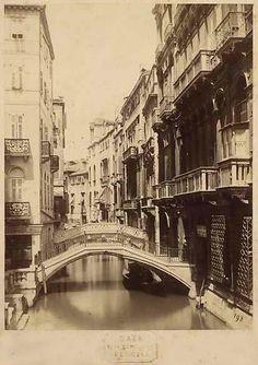 Canal, Venice by Carlo Naya